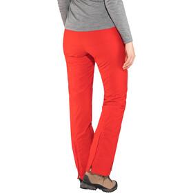 Maier Sports Vroni Slim Pantalones Stretch MTEX Mujer, fire